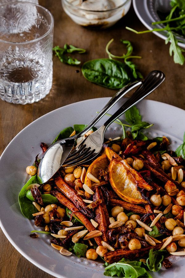 "<strong>Get the<a href=""http://www.deliciouseveryday.com/moroccan-carrot-salad/"" target=""_blank""> Roasted Moroccan Carrot Sal"