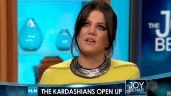 "<p>Khloe Kardashian appears on an episode of ""The Joy Behar"" show in 2010.</p>"