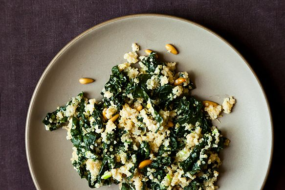 "<strong>Get the <a href=""http://food52.com/recipes/2434-one-pot-kale-and-quinoa-pilaf"" target=""_blank"">One Pot Kale And Quino"