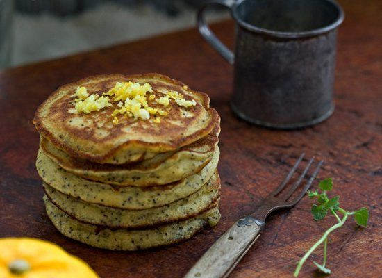 "<strong>Get the <a href=""http://www.tartineandapronstrings.com/2012/03/06/yuzu-poppy-seed-quinoa-pancakes/"" target=""_hplink"">"