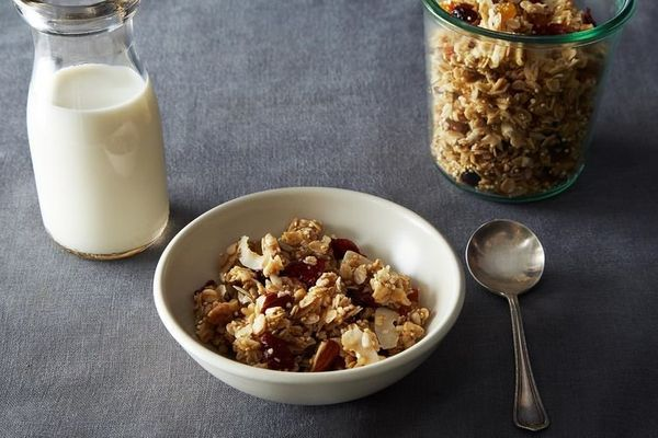 "<strong>Get the <a href=""http://food52.com/recipes/23593-maple-quinoa-granola"" target=""_blank"">Maple Quinoa Granola recipe</a"