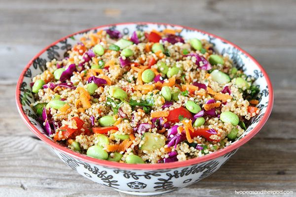 "<strong>Get tge <a href=""http://www.twopeasandtheirpod.com/asian-quinoa-salad/#_a5y_p=614493"" target=""_blank"">Asian Quinoa Sa"