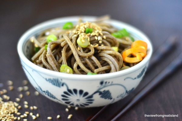 """<strong>Get the <a href=""""http://theviewfromgreatisland.com/2013/08/spicy-mandarin-orange-soba-noodles.html"""" target=""""_blank"""">S"""