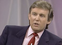 In 1988, Oprah Asked Donald Trump If He'd Ever Run For President. Here's How He Replied.