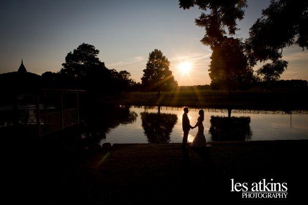 "<span>""Amazing sunset at Rose Hill Plantation for Kelly and Megan's wedding in Nashville, North Carolina."" - <a href=""http://"