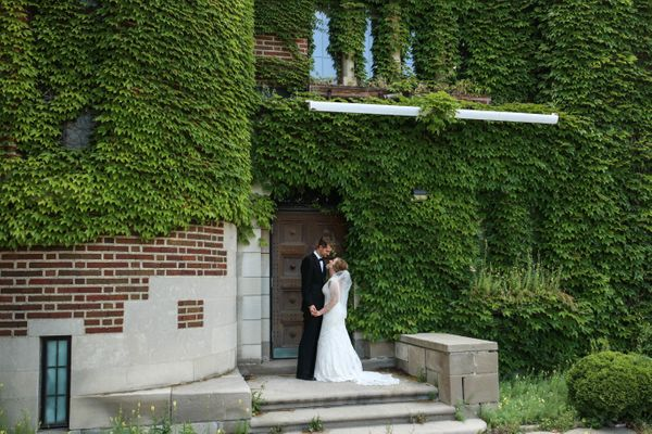 """<span style=""""color: #222222;""""><span>""""Chris and Gabi at an abandoned building location in Detroit, Michigan for after-ceremony"""