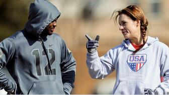 Jen Welter has been hired by the Arizona Cardinals.