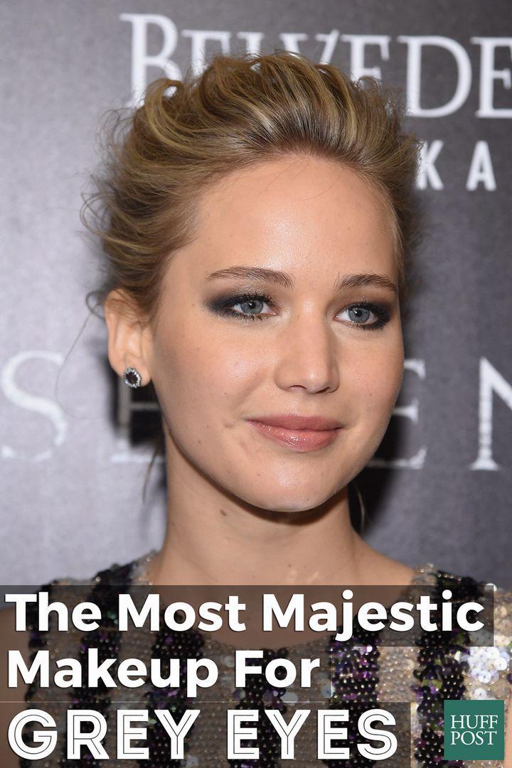 The Most Majestic Makeup For Grey Eyes Huffpost Life