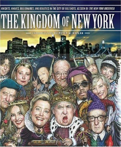 <span>Donald Trump holds court on the cover of The Observer's 2009 book <em>The Kingdom of New York</em>.</span>