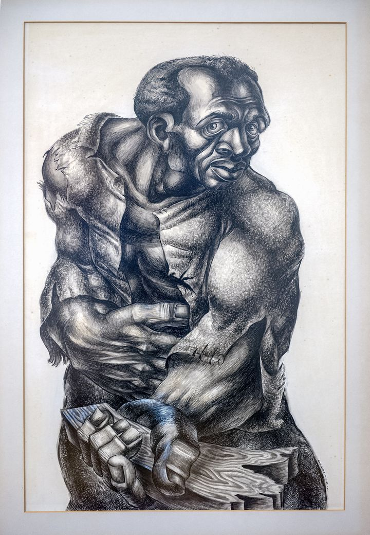 "<span>Charles White. ""</span>Native Son<span>.""</span>"