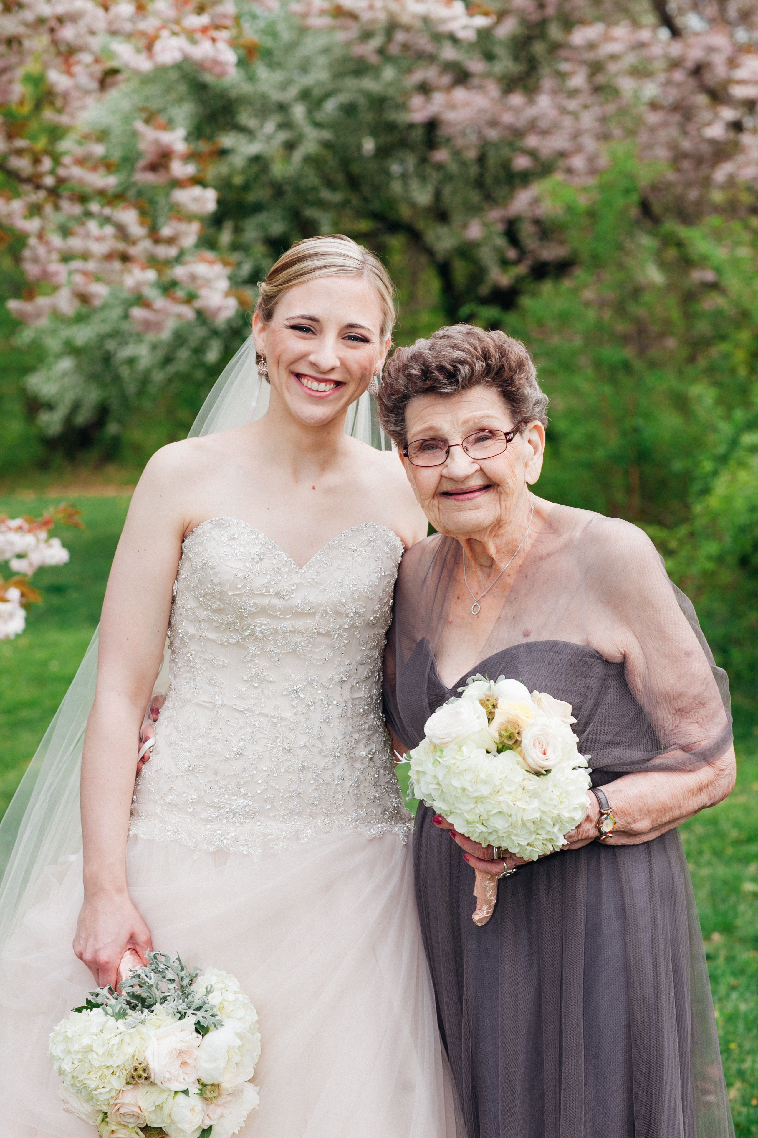 This 89-Year-Old Grandmother Made the Most Beautiful Bridesmaid