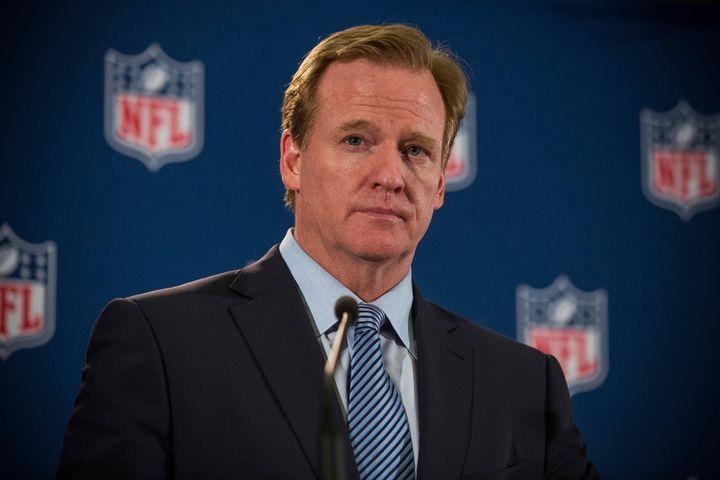 NFL Commissioner Roger Goodell.