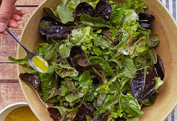 Making an outrageously good salad dressing doesn't have to be complicated, as Ina Garten shows us in this ultimate back-pocke