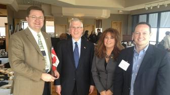 """<p>Missouri state Sen. Bob Dixon, left, released a statement Monday clarifying his past as a """"confused teenager"""" before a religious experience helped him turn away from&nbsp;being gay.</p>"""