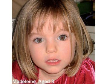 Cops Want To Know If Body Found In Suitcase Is That Of Madeleine McCann...