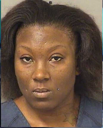 Shakella Quinn is accused of chasing a 10-year-old boy around a parking lot with a knife.
