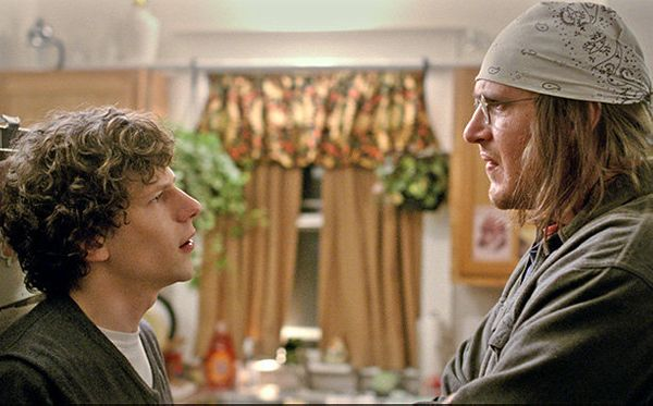 <em>Directed by James Ponsoldt <br> Written by Donald Margulies <br> Starring Jesse Eisenberg, Jason Segel, Anna Chlumsky, Jo