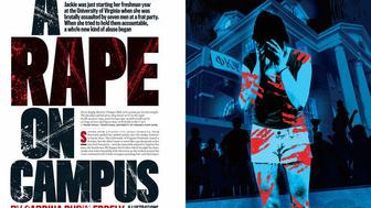 The lead of the debunked Rolling Stone story on an alleged rape at the University of Virginia, published in November.