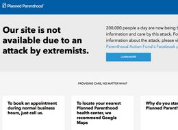 Hackers Launch Second Cyber Attack On Planned Parenthood