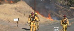 ROCKY FIRE WILDFIRES CALIFORNIA WILDFIRES