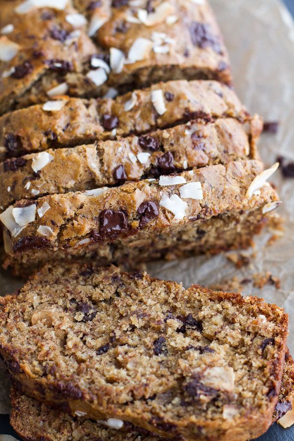 "<strong>Get the <a href=""http://www.halfbakedharvest.com/toasted-coconut-chocolate-chunk-roasted-banana-bread/"" target=""_blan"