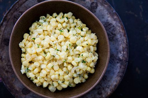 "<strong>Get the <a href=""http://www.simplyrecipes.com/recipes/tarragon_corn/"" target=""_blank"">Tarragon Corn recipe</a> from S"