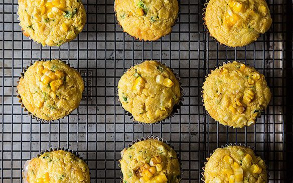 "<strong>Get the <a href=""http://food52.com/recipes/12558-double-corn-quinoa-cheddar-muffins"" target=""_blank"">Double Corn, Qui"