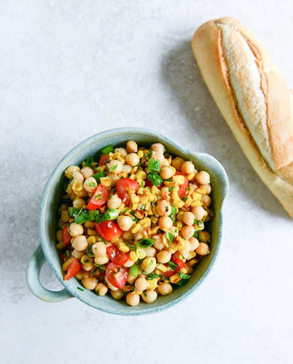 "<strong>Get the <a href=""http://www.howsweeteats.com/2014/06/the-simple-chickpea-salad-im-losing-my-mind-over/"" target=""_blan"