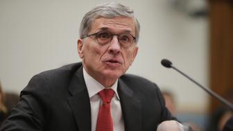 WASHINGTON, DC - MARCH 25:  Federal Communications Commission Chairman Tom Wheeler testifies before the House Judiciary Committee in the Rayburn House Office Building on Capitol Hill March 25, 2015 in Washington, DC. Wheeler faced a tough line of questioning from the committee's Republicans about the FCC's recent move to regulate broadband Internet service like a utility using Title II of the Communications Act.  (Photo by Chip Somodevilla/Getty Images)