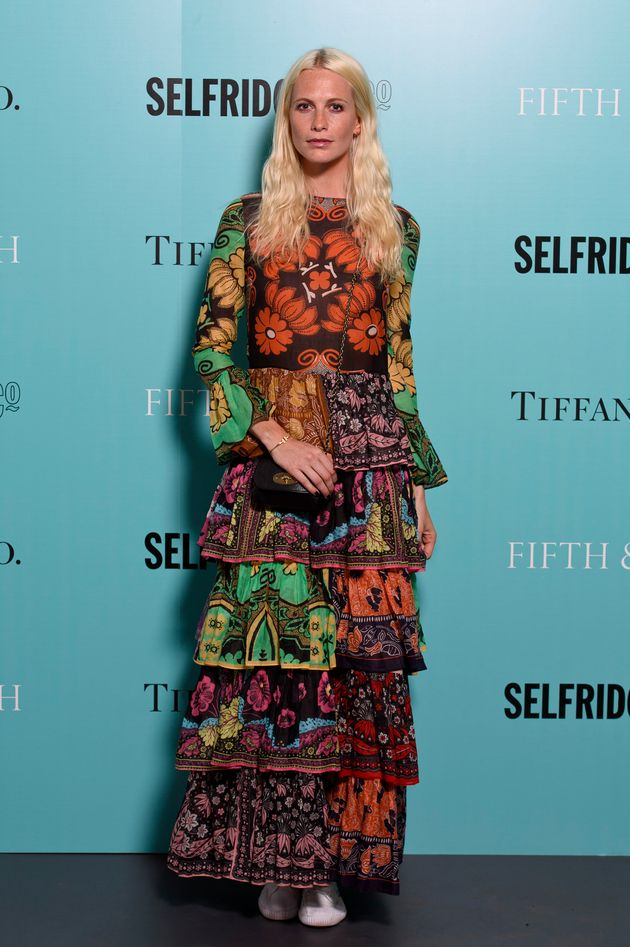 Model's Completely Sheer Dress Is Our Most Outrageous Look ...