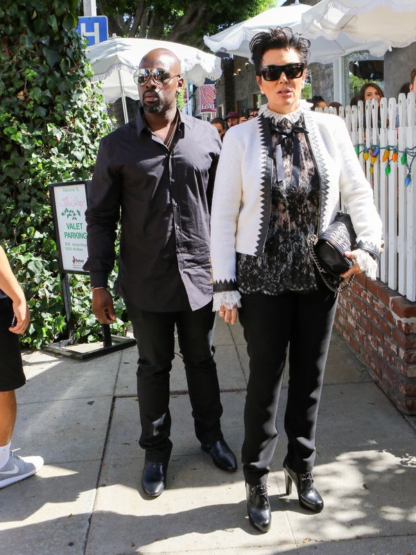 Looking regal out and about in Los Angeles.