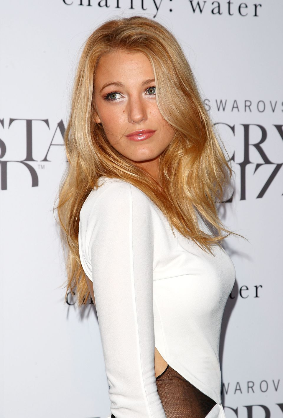 NEW YORK - JUNE 25:  Actress Blake Lively attends the Swarovski Crystallized Concept store grand opening at Swarovski Crystal