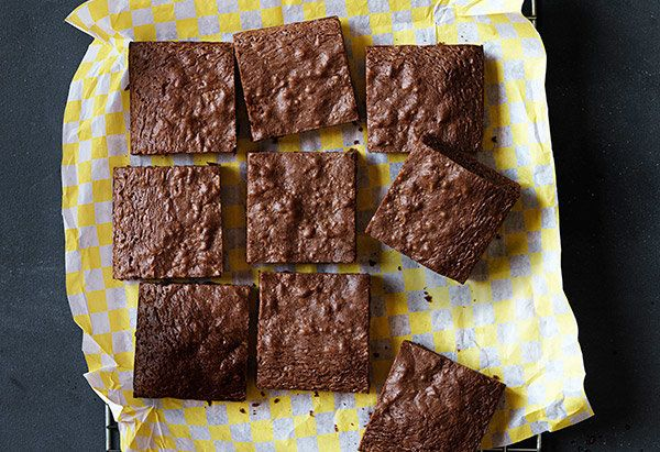 The only thing standing between you and subtly sweet, cakey brownies is a handful of everyday ingredients (Nutella, eggs, flo