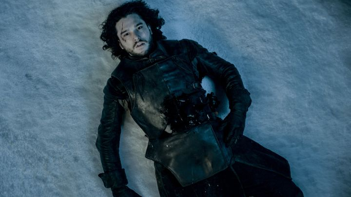 "Jon Snow (<span>Kit Harington) on the HBO TV series, ""Game of Thrones.""</span>"
