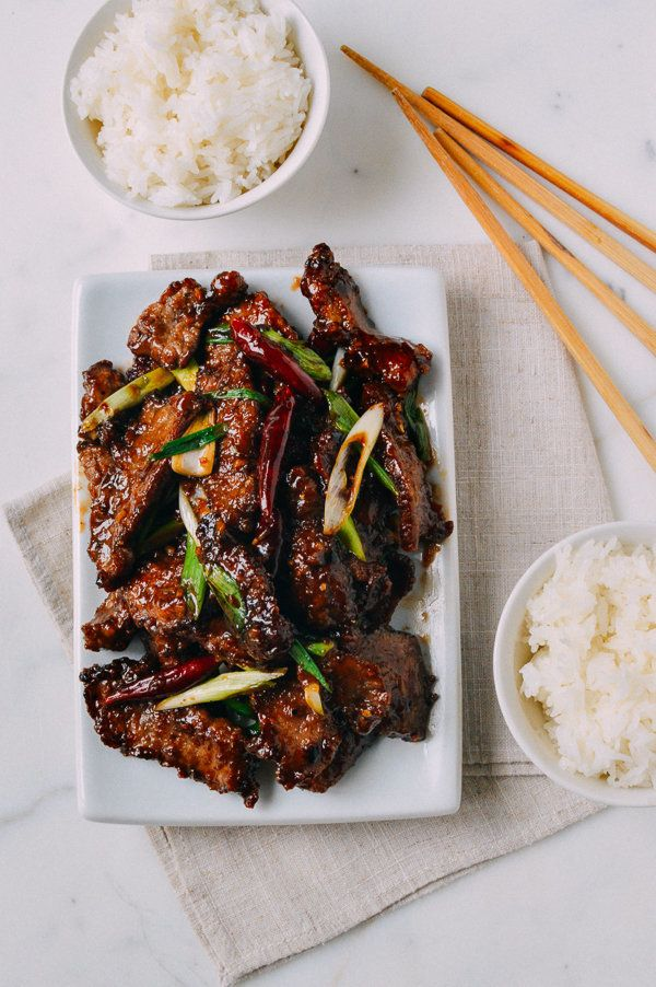 "<strong>Get the <a href=""http://thewoksoflife.com/2015/07/mongolian-beef-recipe/"">Mongolian Beef recipe </a>from The Woks of"