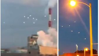 Similar UFOs seen over Japan (left) and Wisconsin (right).