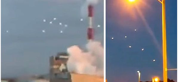 Similar UFOs Appear Over Japanese, U.S. Cities