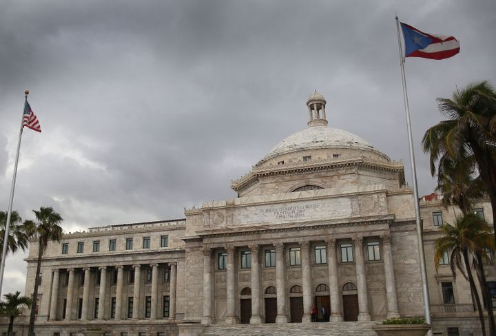 Puerto Rico is set to default as a result of inability to pay $72 billion in debt, which could lead to the largest debt restr