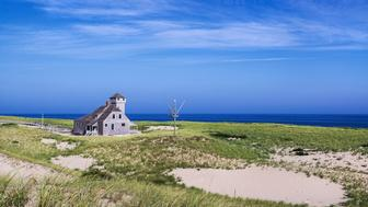 CAPE COD, PROVINCETOWN, MASSACHUSETTS, UNITED STATES - 2013/09/03: Old Harbor Life Saving Station Museum at Race Point Beach. (Photo by John Greim/LightRocket via Getty Images)