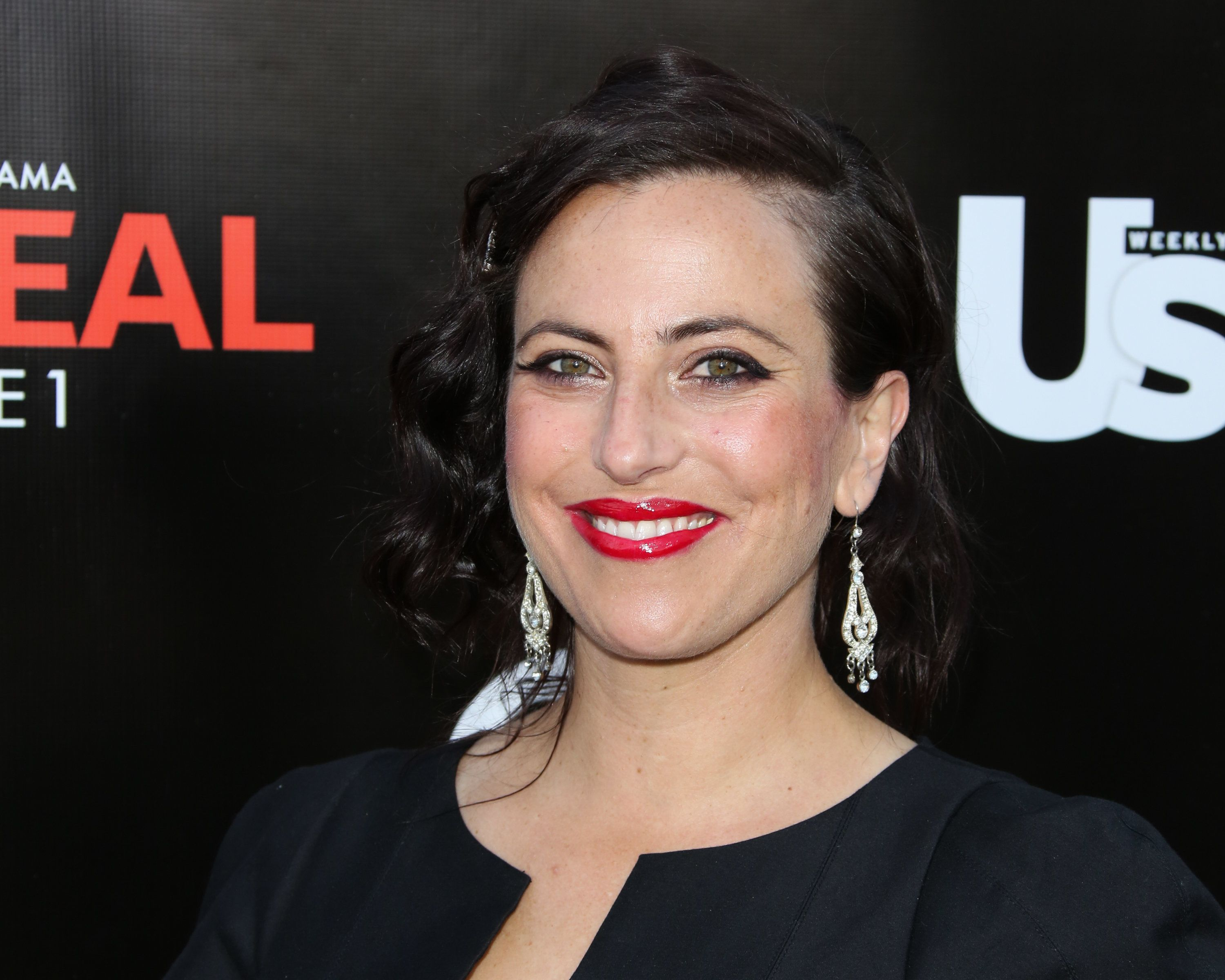 BEVERLY HILLS, CA - MAY 20:  Director Sarah Gertrude Shapiro attends the 'Unreal' premiere party at SIXTY Beverly Hills on May 20, 2015 in Beverly Hills, California.  (Photo by Paul Archuleta/FilmMagic)
