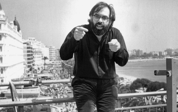 """Francis Ford Coppola attends the 1979 Cannes Film Festival premiere of """"Apocalypse Now."""""""