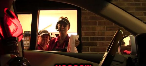 Drive-Thru Robot Freaks Out Innocent Fast Food Workers
