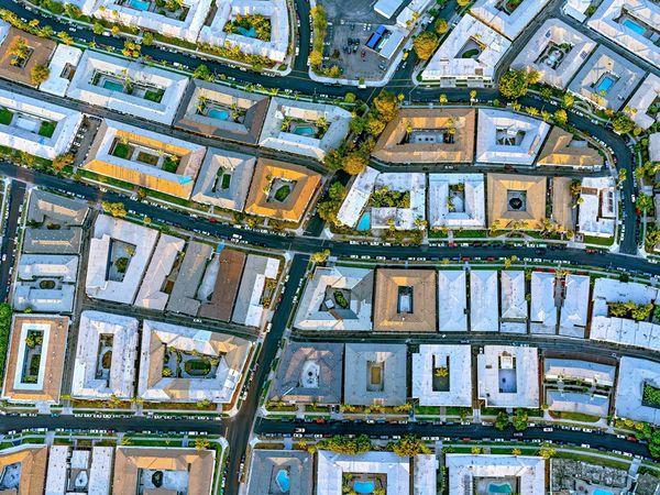 L.A. apartment complex