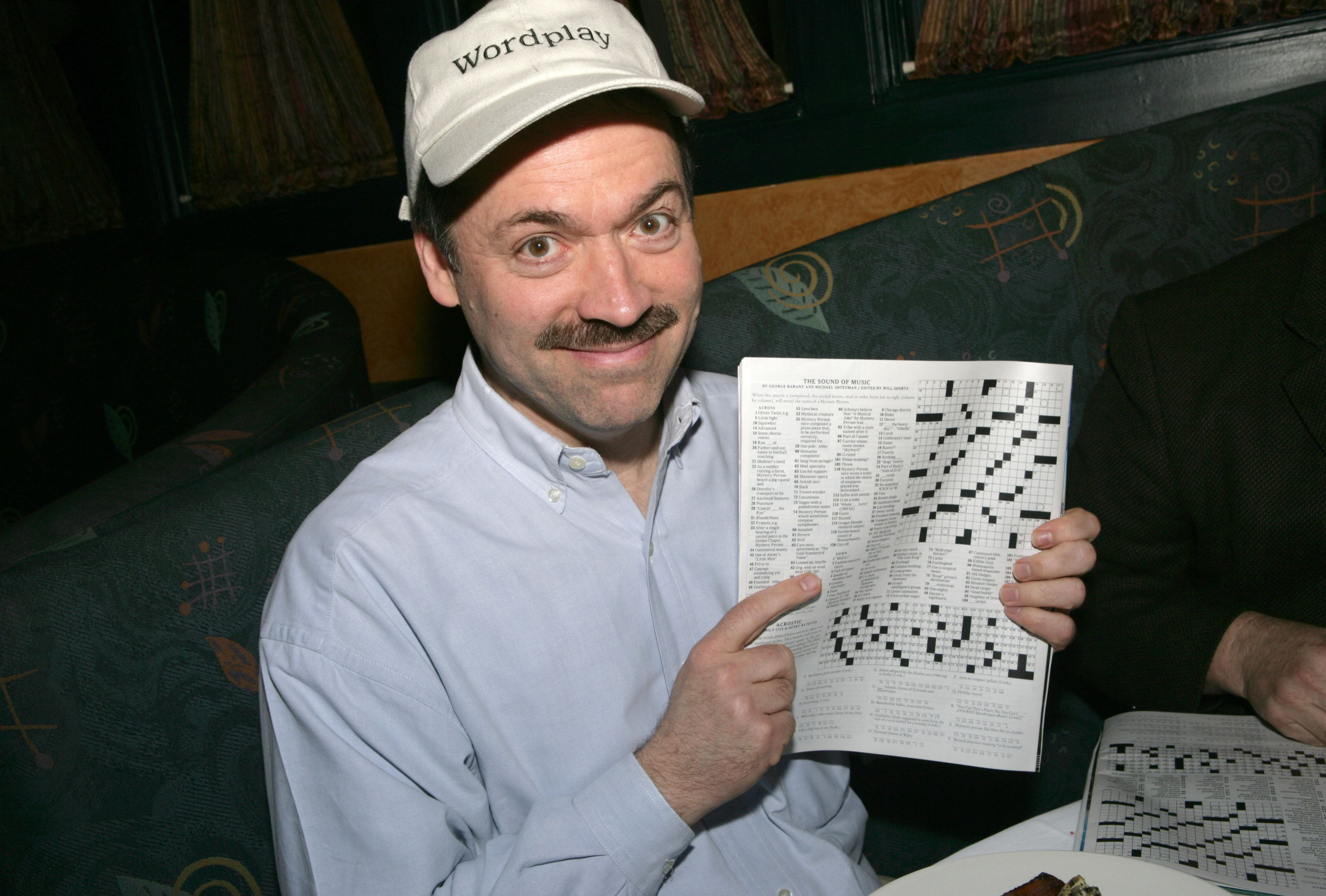 Will Shortz during 2006 Park City  - 'Wordplay' Brunch in Park City, Utah, United States. (Photo by Randall Michelson/WireImage)