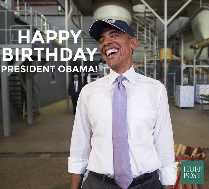 Happy Birthday Barack Obama Huffpost