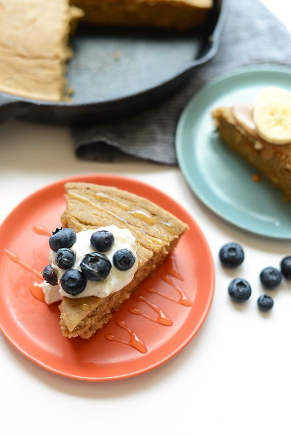 """<strong>Get the<a href=""""http://fitfoodiefinds.com/2015/07/banana-breakfast-cake/"""">Banana Breakfast Cake recipe</a"""