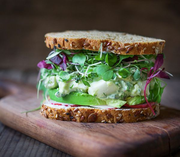 "<strong>Get the<a href=""http://www.feastingathome.com/green-goddess-egg-salad-with-avocado/"">Green Goddess Egg Salad re"