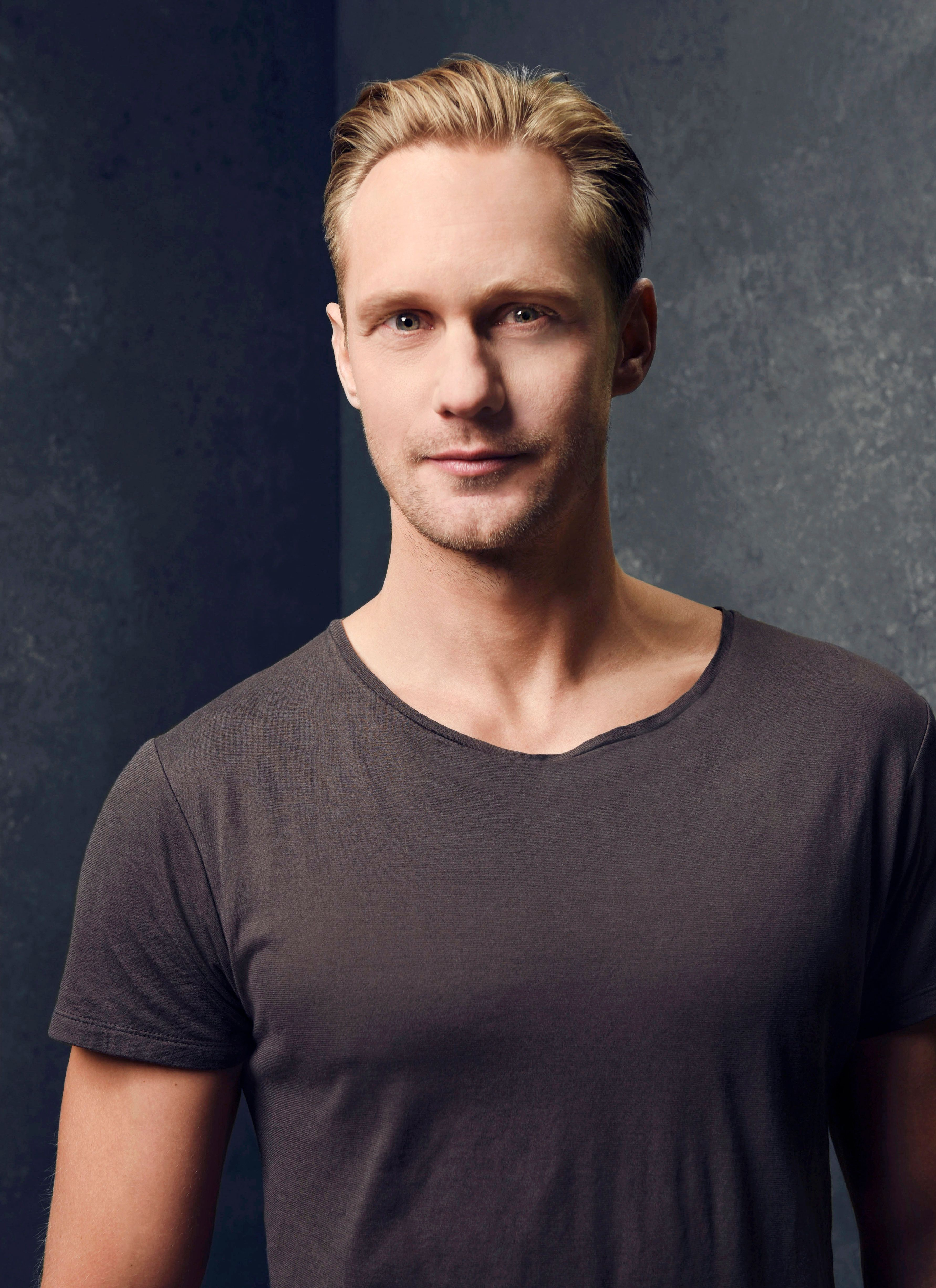 PARK CITY, UT - JANUARY 23: Actor Alexander Skarsgard poses for a portraits at the 2015 Sundance Film Festival on January 23, 2015 in Park City, Utah. (Photo by Larry Busacca/Getty Images)