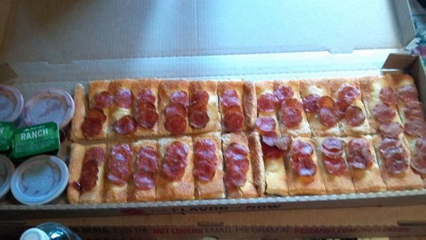 """The<a href=""""http://www.prnewswire.com/news-releases/were-going-to-need-a-bigger--everything-pizza-hut-introduces-big-fl"""