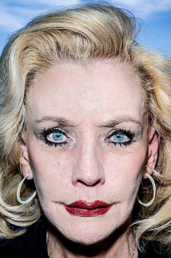 Donna, Las Vegas, USA viaBruce Gilden/Magnum Photos from 'Face', Dewi Lewis Publishing.